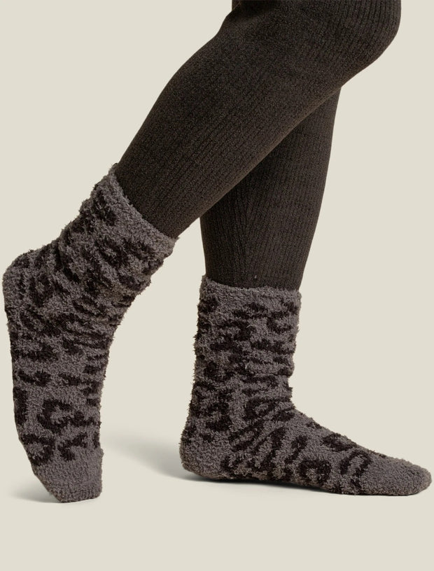 Barefoot Dreams - CozyChic Women's BITW Socks in Graphite Carbon