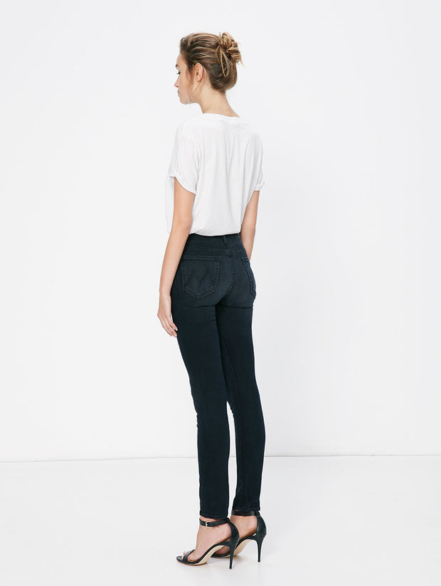 Mother Denim Mother - High Waisted Looker Skinny Blackbird at Blond Genius - 2