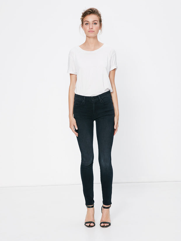 Mother Denim Mother - High Waisted Looker Skinny Blackbird at Blond Genius - 1