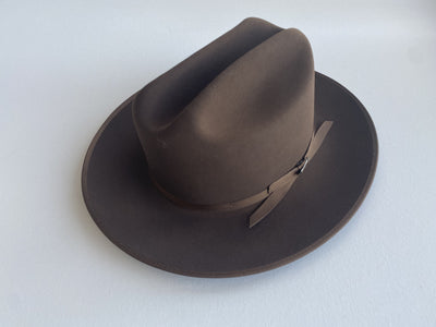 Blond Genius x Stetson - Open Road Royal Deluxe Hat in Walnut