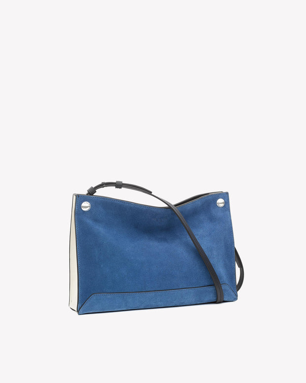 Rag & Bone - Compass Crossbody in Deep Blue