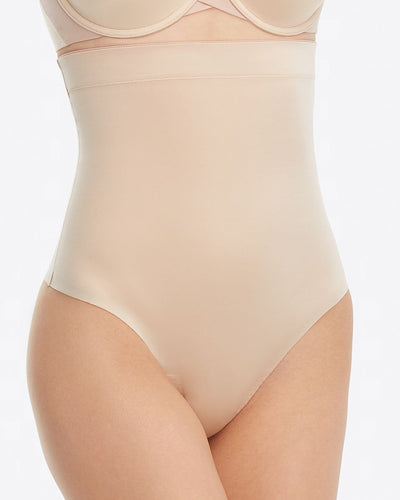Spanx - Suit Your Fancy High Waisted Thong in Champagne Beige