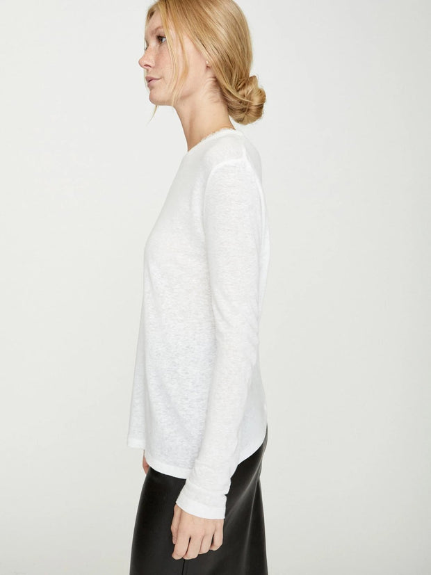 Brochu Walker - Oliana Tee in Salt White