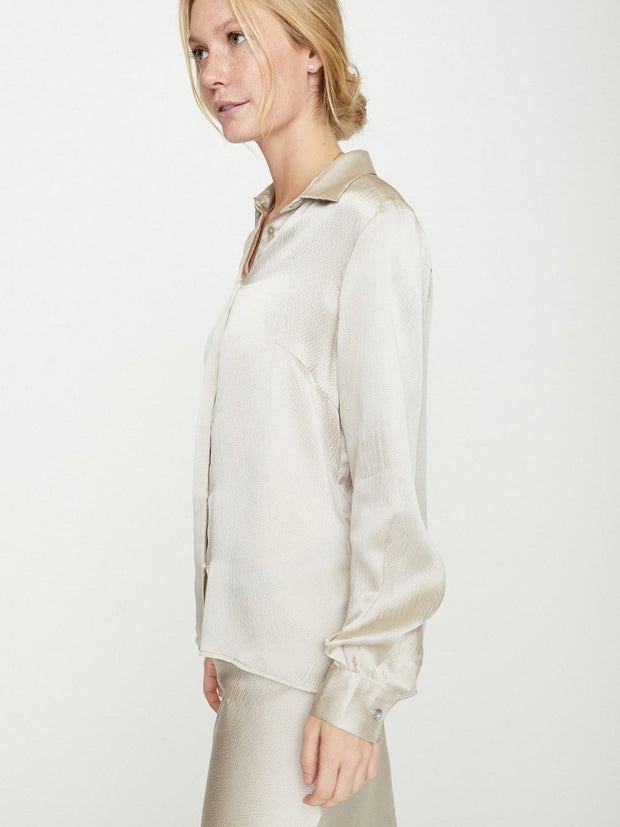 Brochu Walker - Walker Blouse in Devon Grey