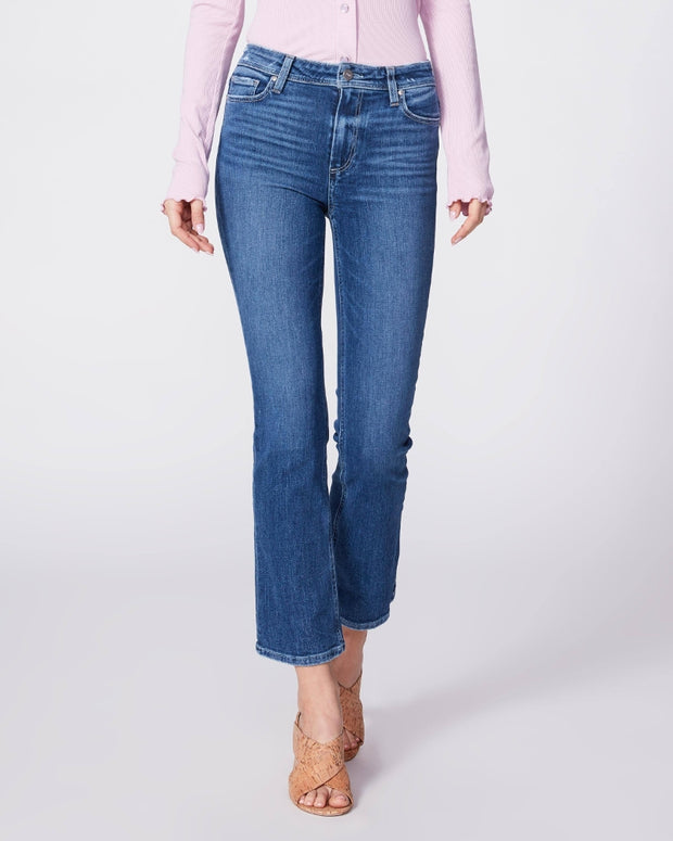 Paige Denim - Claudine Ankle Flare Jeans in Roadie