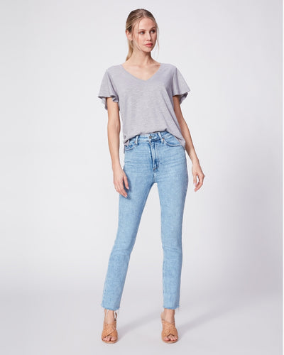Paige Premium Denim - Ultra High Rise Cindy w/ Raw Hem in Mariska