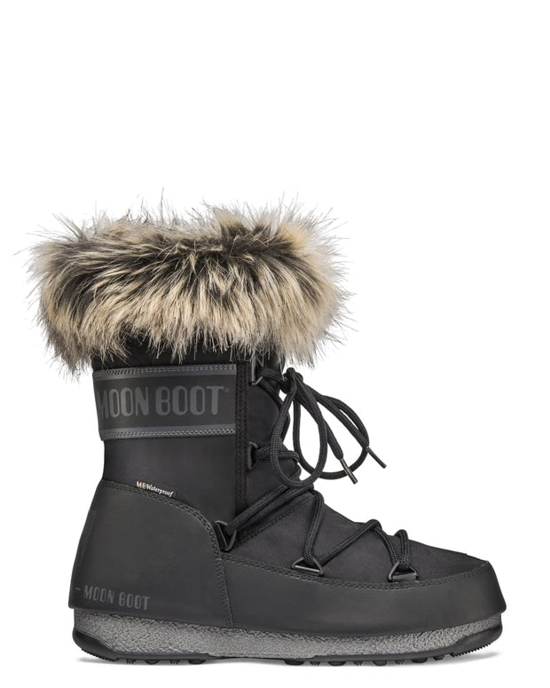 Moon Boot - Monaco Low in Black