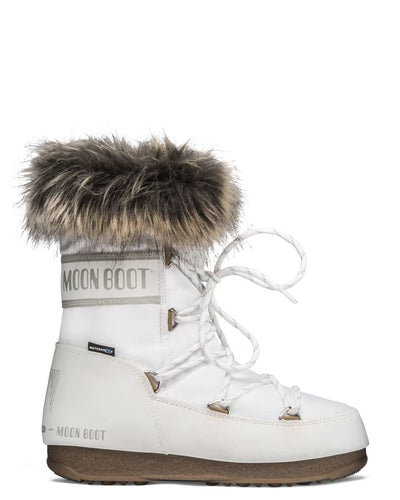 Moon Boot - Monaco Low in White