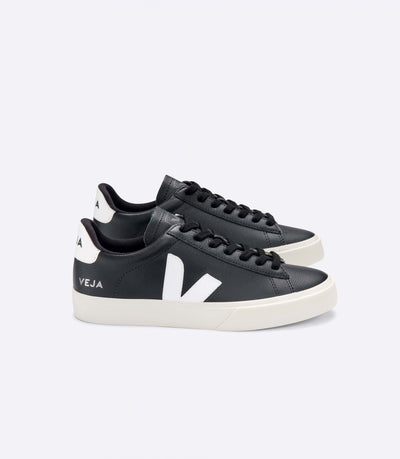 Veja - Campo Chromefree Sneakers in Black White