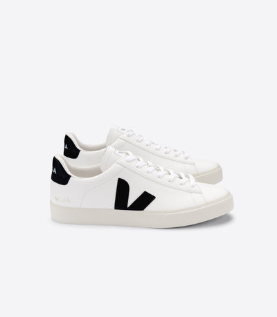 Veja - Campo Chromefree Sneakers in Extra-White Black