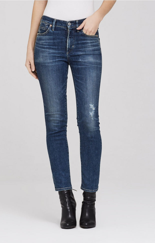 Citizens of Humanity - Cara Cigarette High Rise Slim Ankle in Ankara