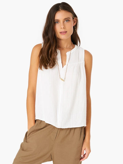 Xirena - Carrie Tank Top in White