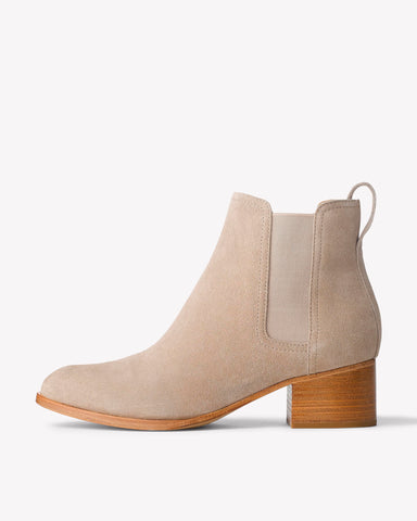 Rag & Bone- Walker Boot Smoke Suede