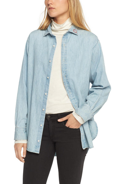 Rag & Bone Boyfriend Shirt Embroidery at Blond Genius - 1