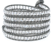 "Chan Luu 32"" 5 Wrap Bracelet w/ Crystal CRYS Cal/Gl at Blond Genius - 1"