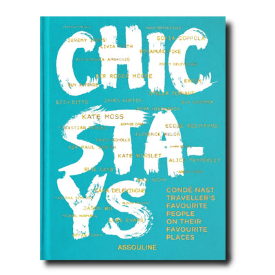 Assouline - Chic Stays Hardcover Book