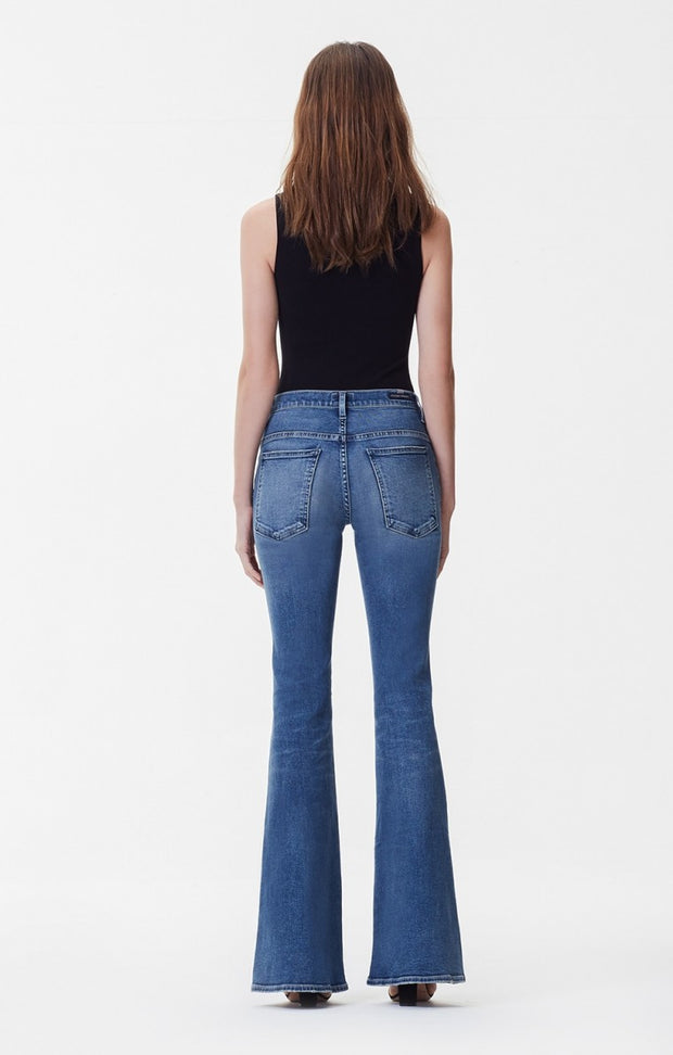 Citizens Of Humanity - Chloe Mid Rise Super Flare Jeans in Orbit