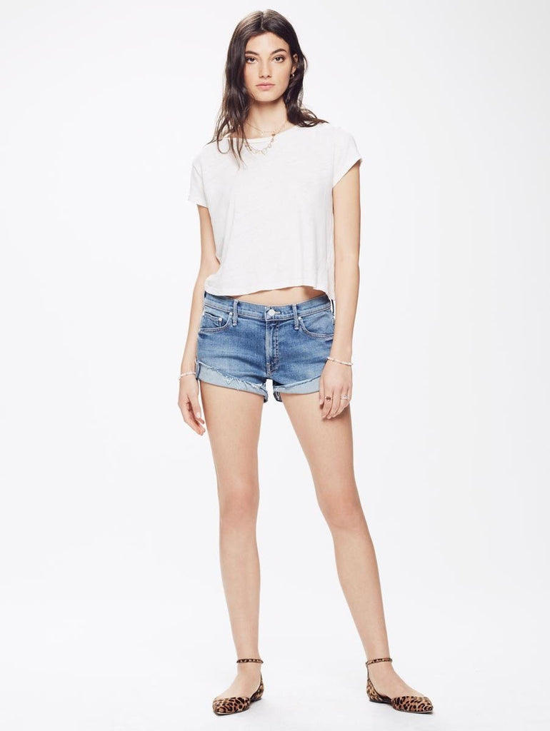 ... Mother - The Rascal Slit Flip Short in One Smart Cookie ...