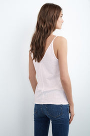 Velvet Emmalee Tank in Rosewood at Blond Genius - 2