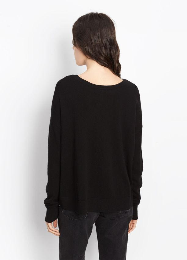 Vince - Wide Neck Cashmere Crop