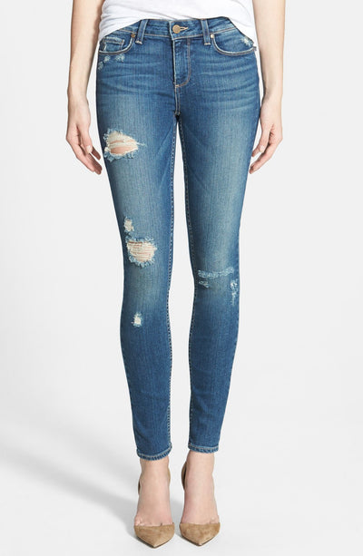 Paige Premium Denim - Verdugo Ultra Skinny in Danica Destroyed