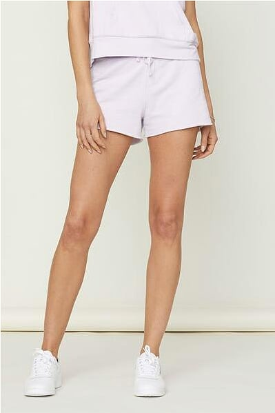 David Lerner - Lounge Short With Raw Hem Lavender