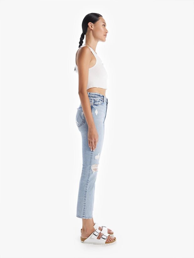 Mother Denim - The Dazzler Ankle Jean in Lost It