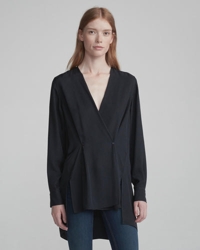 Rag & Bone Collection- Debbie Top Black