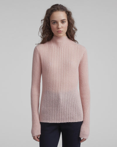 Rag & Bone Collection- Donna Turtleneck Peach Beige