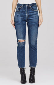 Citizens of Humanity - Dree Crop High Rise Slim Straight Leg