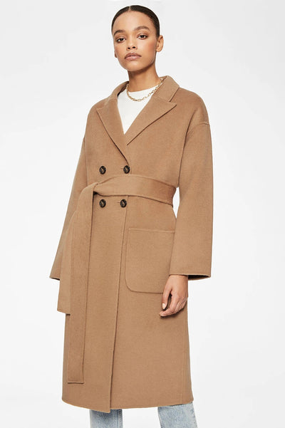 Anine Bing - Dylan Coat in Camel