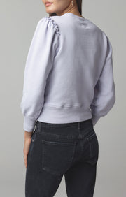 Citizens of Humanity - Edie Puff Sleeve Sweatshirt in Ash Lavender