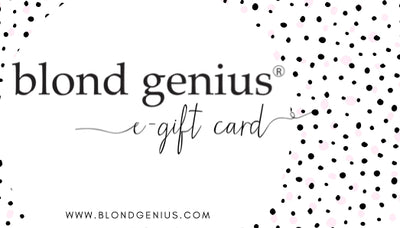 Blond Genius Gift Card