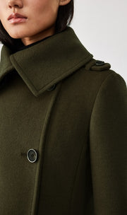Mackage - Elodie Wool Coat in Army