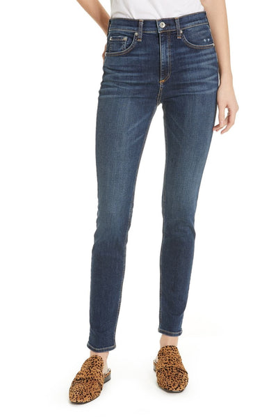 Rag & Bone - High Rise Skinny in Elton