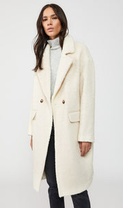 Mackage - Eve Wool Coat in Off White