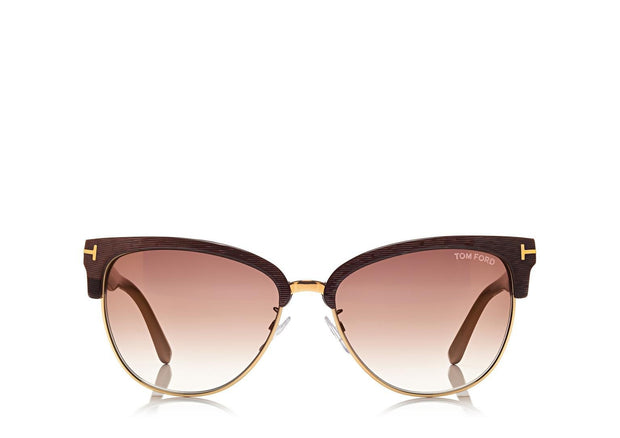 Tom Ford - Fany Dark Brown/Brown Mirror