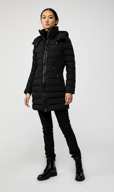 MACKAGE - Farren Lightweight Down Coat in Black