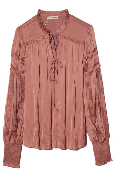 Ulla Johnson - Fernanda Blouse in Copper