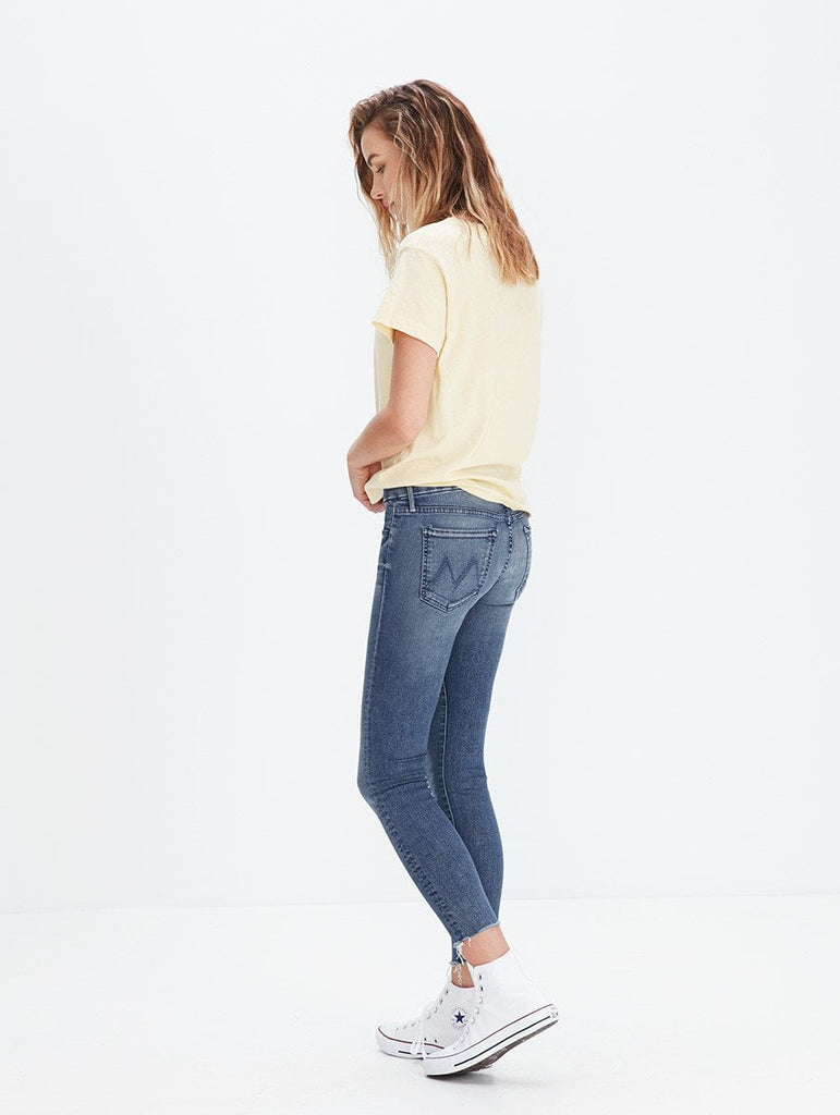 Mother Denim The Looker Ankle Fray at Blond Genius - 3