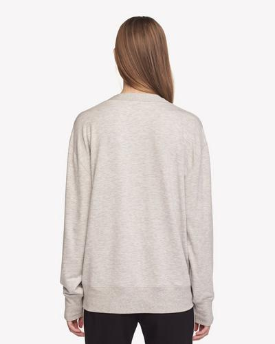 Rag & Bone - Flora Pullover in Heather Grey