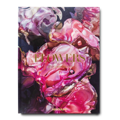 Assouline - Flowers: Art & Bouquets Silk Hardcover Book