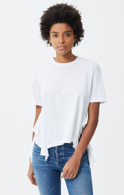 Citizens of Humanity - Freja Side Ruffle Tee White