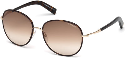 Tom Ford - Georgia Dark Havana / Gradient Brown