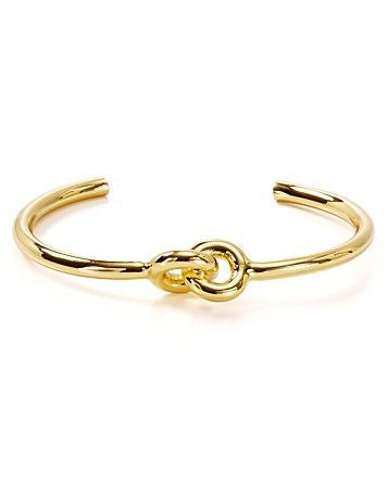 Giles & Brother Skinny Archer Cuff 14k Gold Plated at Blond Genius