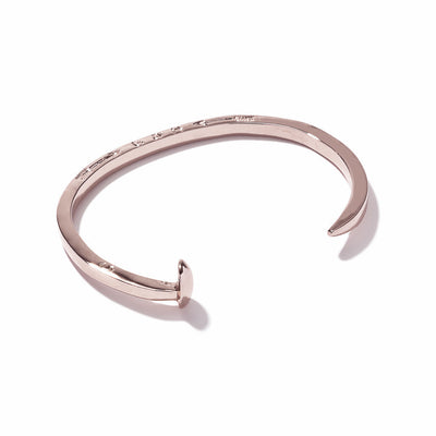 Giles & Brother Skinny Railroad Cuff at Blond Genius