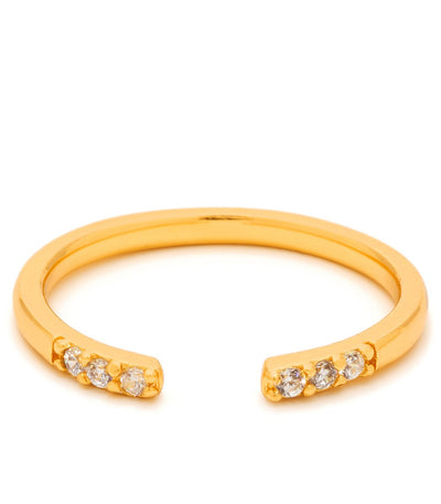 Gorjana Aida Cuff Midid Ring at Blond Genius - 1