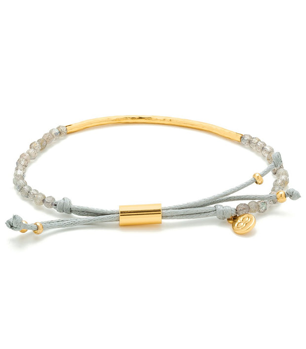 Gorjana Power Gemstone Bracelet Lab/Gold at Blond Genius - 2