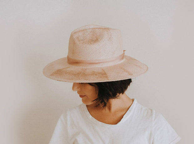 FREYA - Heather Hat in Blush/Mauve