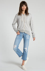 n:Philanthropy - Hendrix Zip-Up Heather Grey